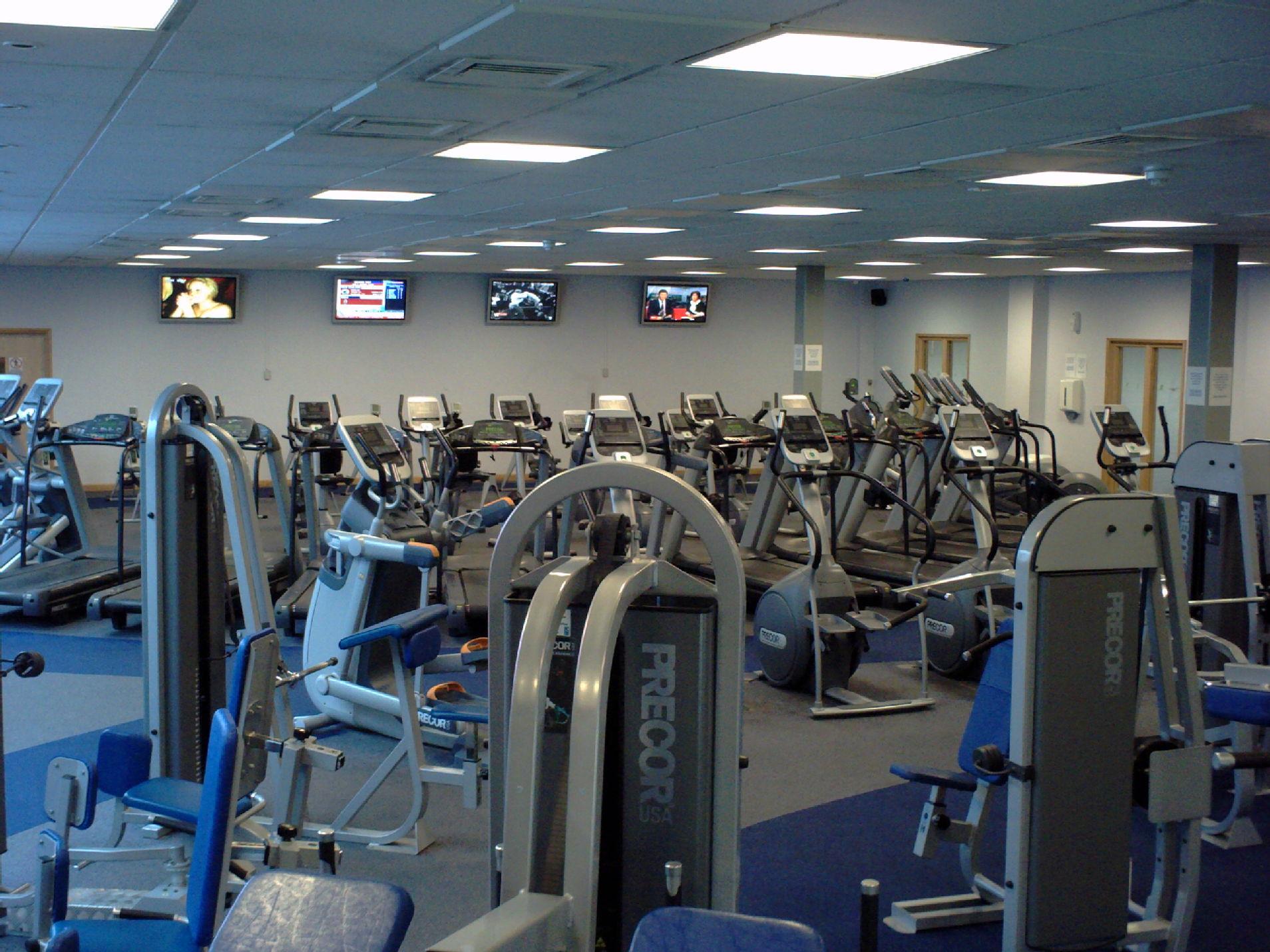 Warwick university gym